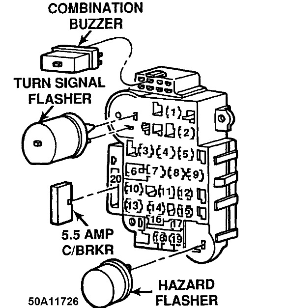 Turn Signal Flasher Wire Diagram
