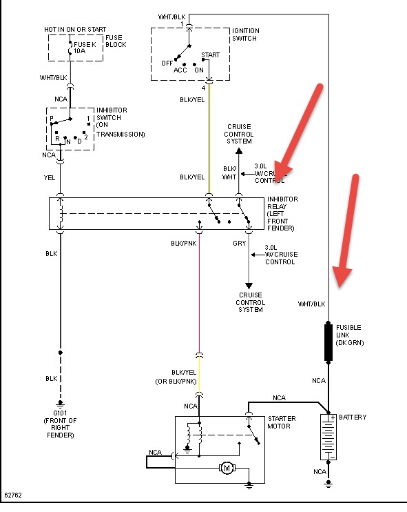 how do i locate the starter inhibitor relay starter inhibitor relay