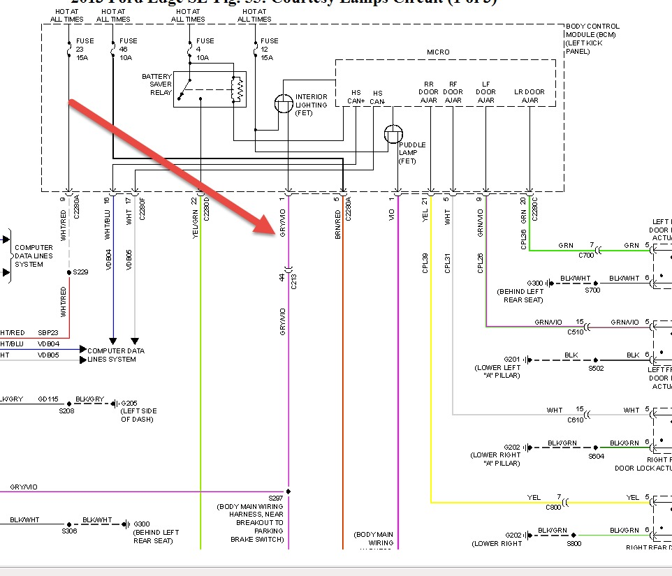 2013 ford edge wiring schematic 2013 ford edge illuminated door sill plates: trying to ... ford edge wiring diagram #11