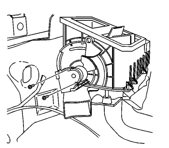 2000 Chevrolet Silverado Blower Actuators I Cannot Get My Mode