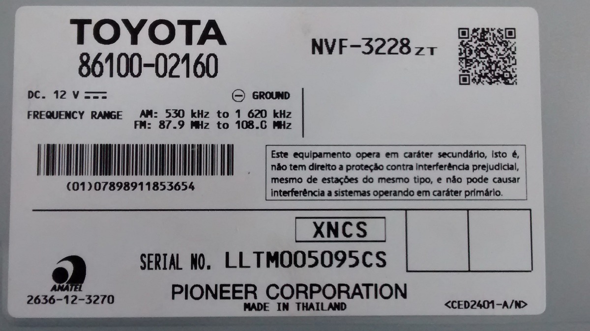 2013 Toyota Corolla Pioneer