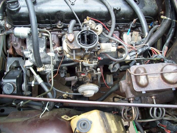 Engine No Start: Jeep Cj7 258 Inline 6. Engine No Start ...