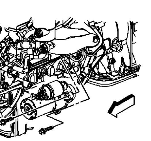 service manual  2006 cadillac cts removal diagram