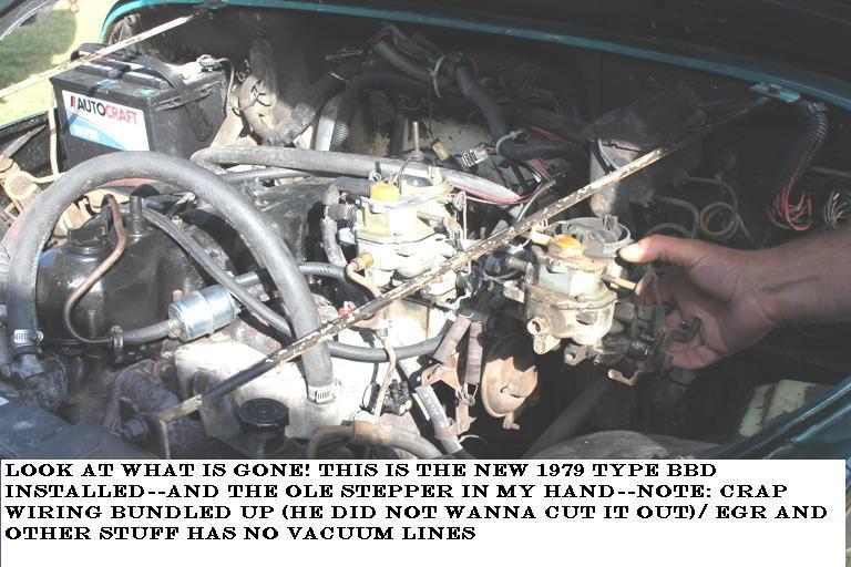 1984 Jeep CJ7 CJ Stalling When Idling: I Power Washed My CJ 2