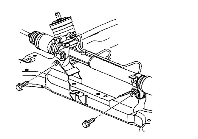 service manual  2006 buick lucerne power steering rack