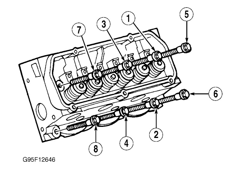 1998 Ford Windstar Torque Need For Head Bolts