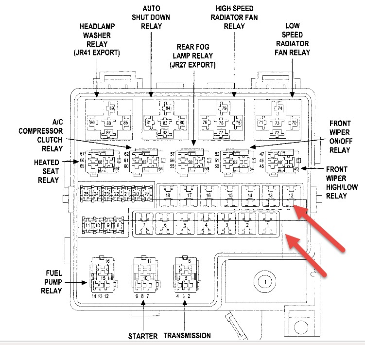original fuse box 2003 dodge stratus dodge wiring diagrams for diy car 2006 dodge stratus fuse box location at crackthecode.co