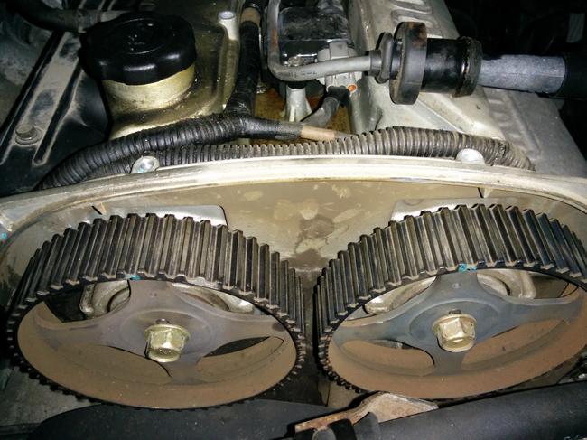 2004 Hyundai Santa Fe Timing Belt Replacement: 2004 Dohc 2 ...