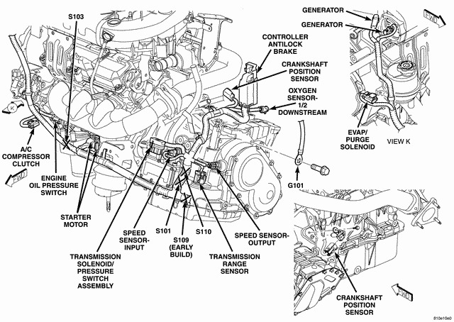 2004 Chrysler Pacifica Engine Diagram - Wiring Diagram Online on