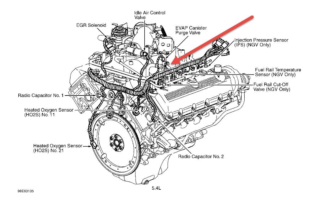 2000 Ford E-Series Van Possible Vacuum Leak: My Van Ran