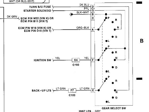 1991 Pontiac Sunbird No Start at Key: Orig: No Start  Power to