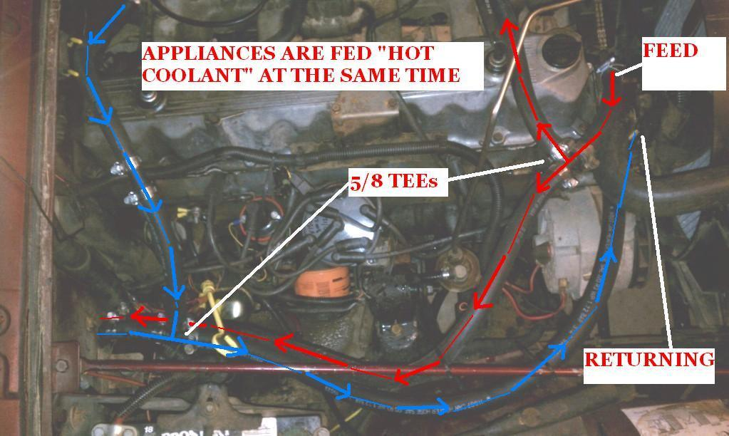 1986 jeep cj7 heater core: just replaced heater core on my ... cj5 engine diagram cj5 heater diagram #7