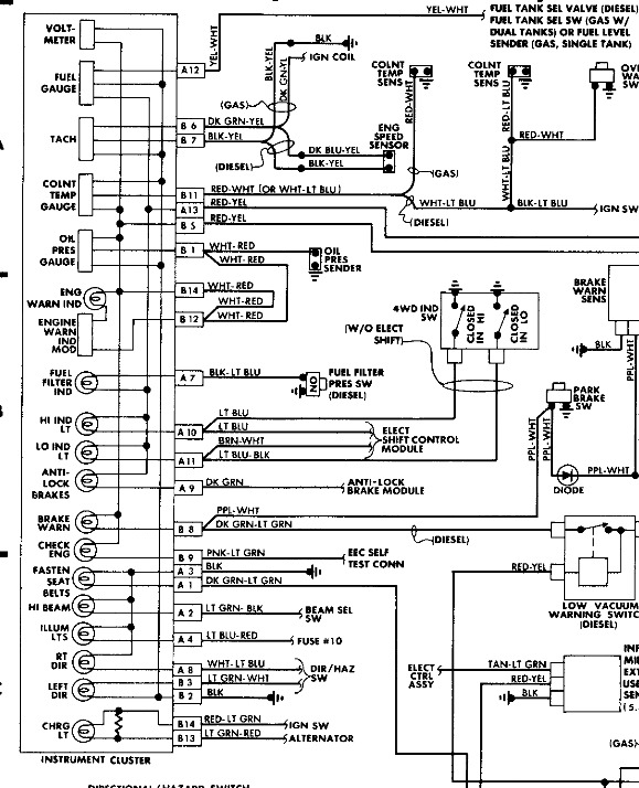 1988 ford bronco wire diagrams  im looking for a wiring