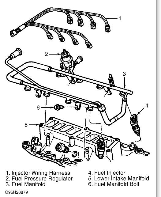 Fuel Line Diagram Ford F 150 Fuel Line Diagram 93 F150 Fuel System
