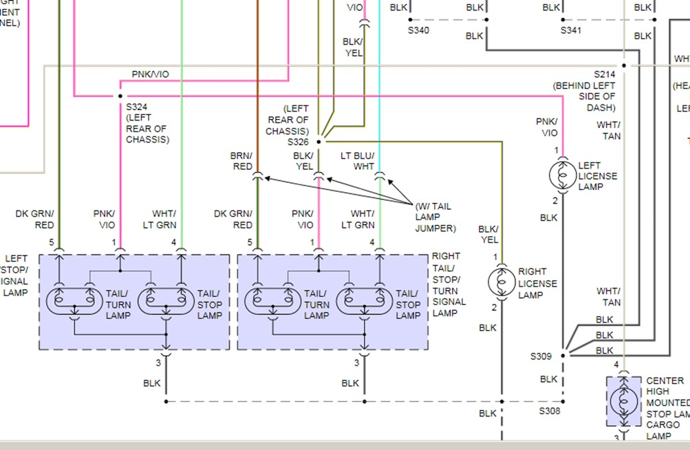 Dodge Ram Wiring Diagram Dodge Ram Tail Light Wiring Diagram - WIRE ...
