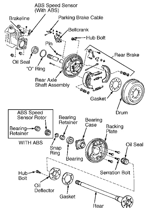 2000 toyota tundra rear end axle bearing replacement 2