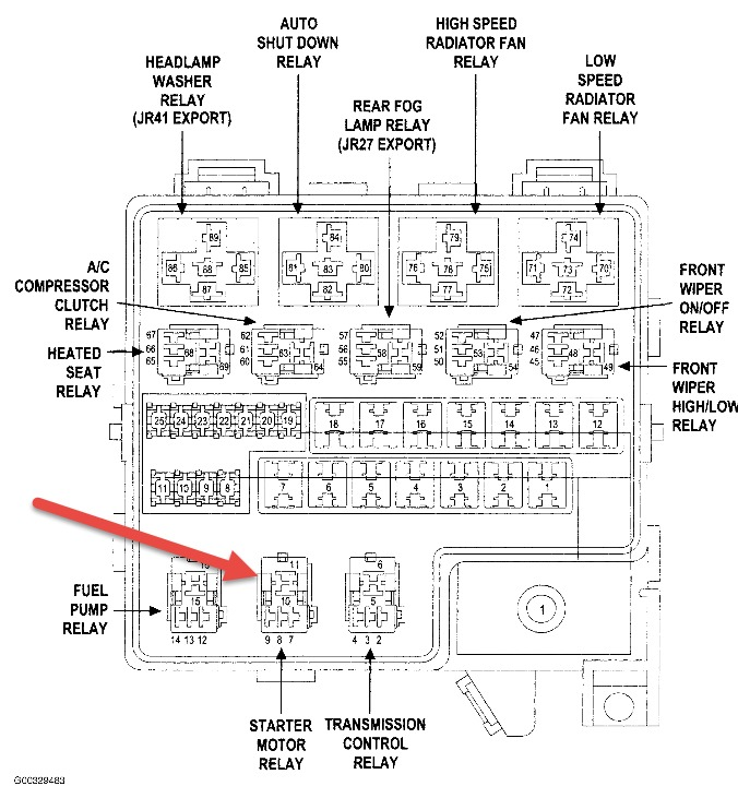 2000 Dodge Stratus Starter Location - wiring diagrams image free ...