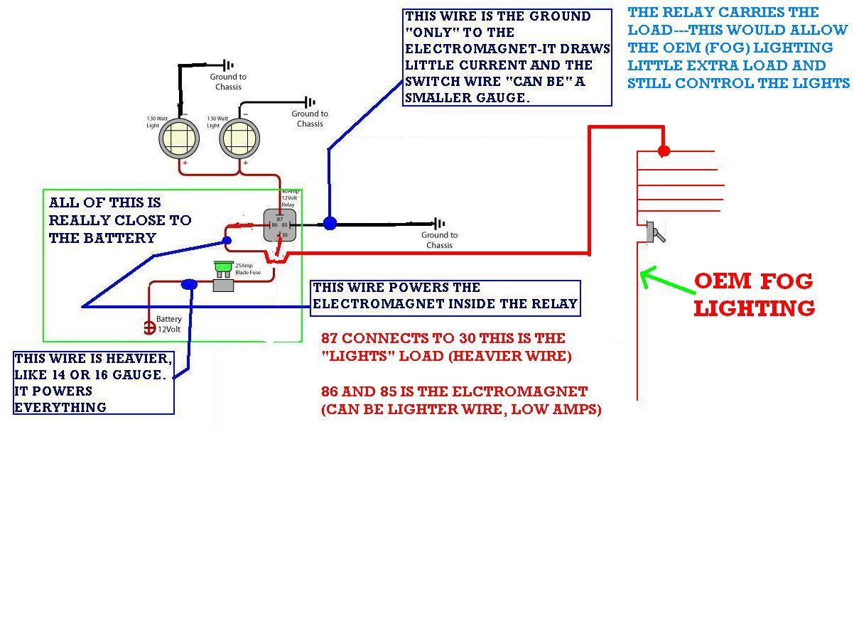 Adding More Fog Lights Off Road I Have A 2008 Dodge Ram 12 Volt Light Lamp Wiring Diagram Thumb