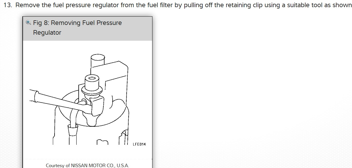 Fuel Pressure Regulator Location I Have Been Told That The Rh2carpros: Nissan Frontier 2006 Fuel Filter Location At Gmaili.net