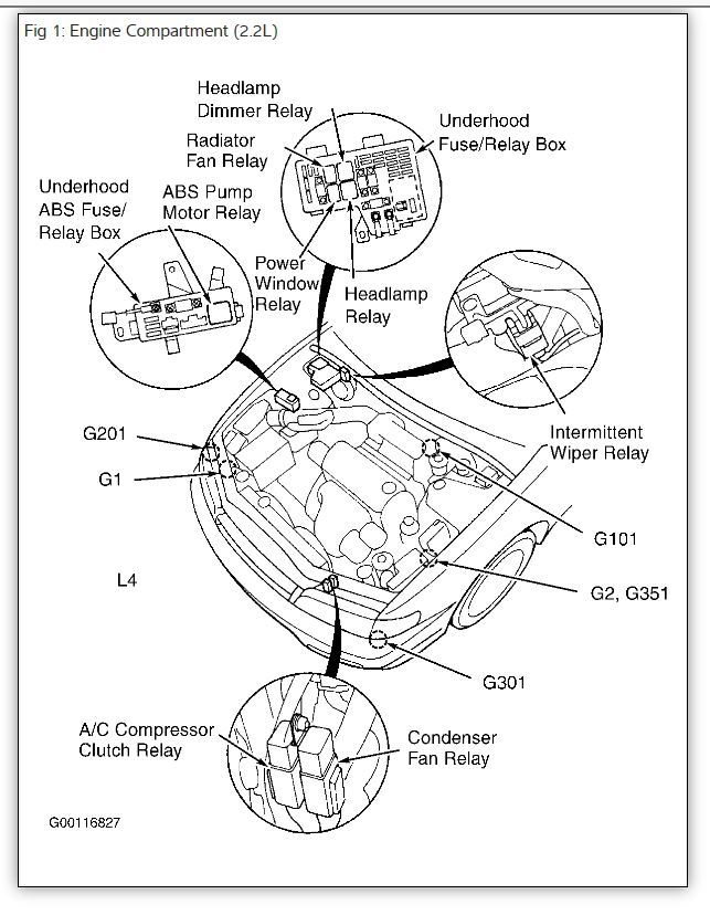 1997 Honda Accord Diagram