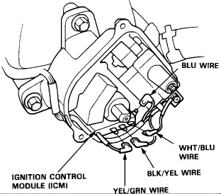 Distributor Wiring Diagram: the Engine Shut Off While ... on