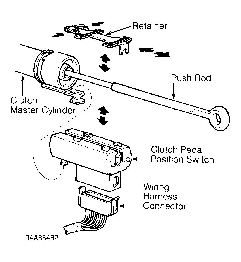 Ford Clutch Wire Diagram