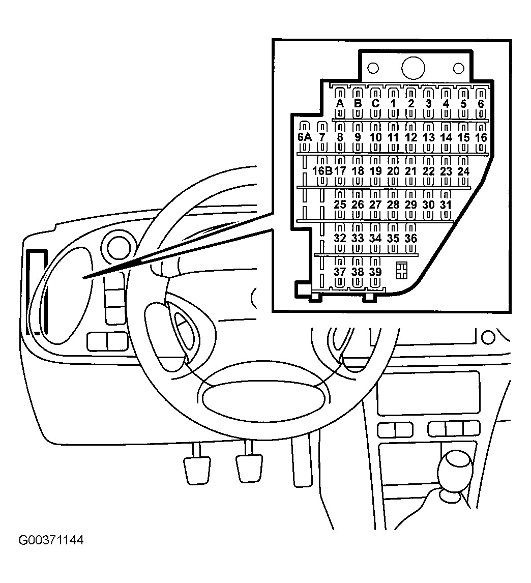 saab 93 fuse box   16 wiring diagram images