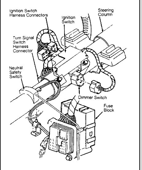 Chevrolet Turn Signal Switch