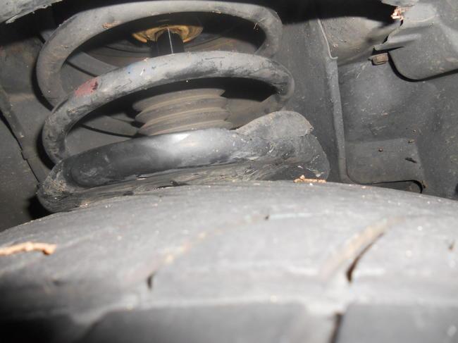 2001 Chrysler Sebring Tires Rubbing Struts W Pics