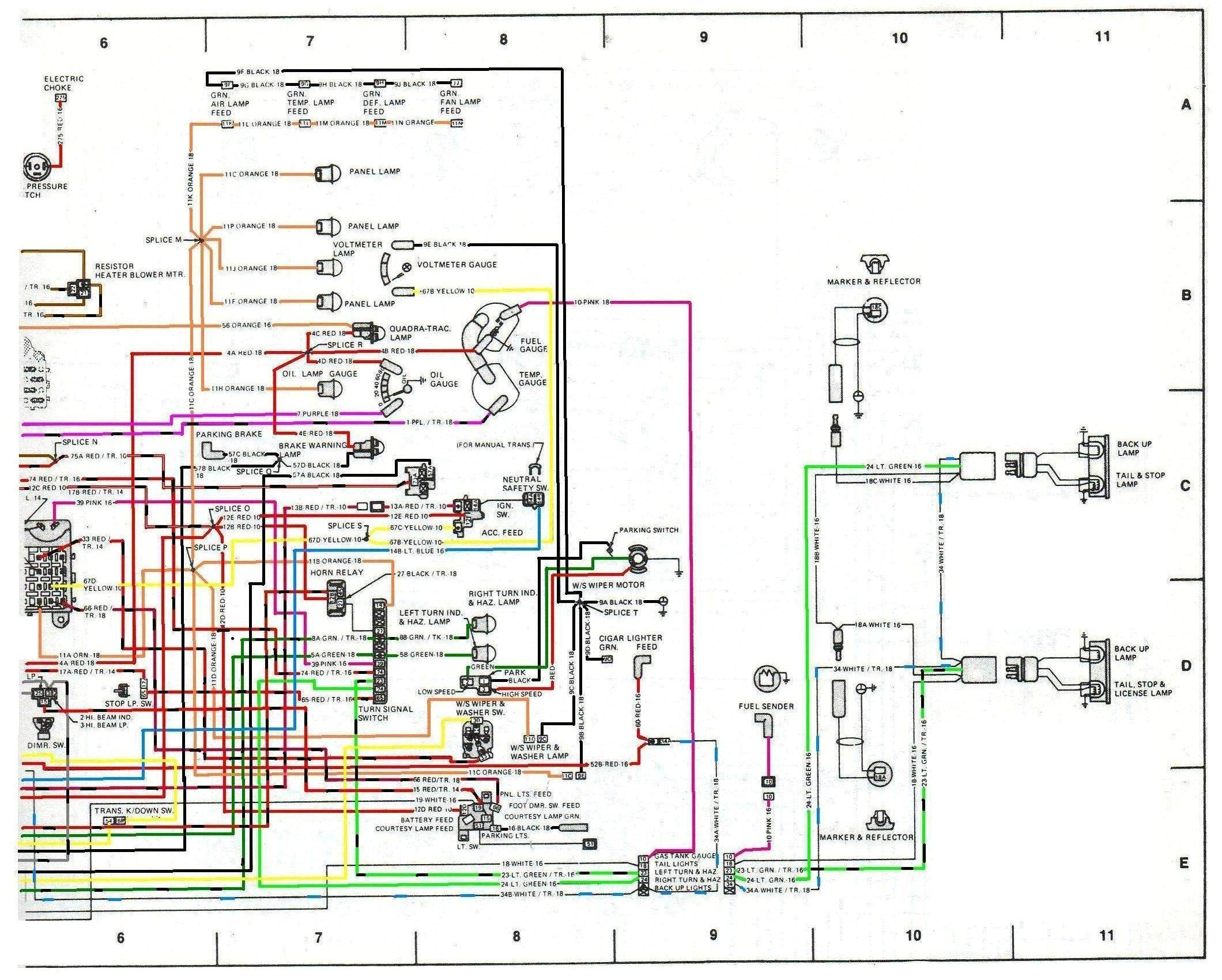 Engine Wiring: I Need a Good Copy of the Wiring for a 1979 ...