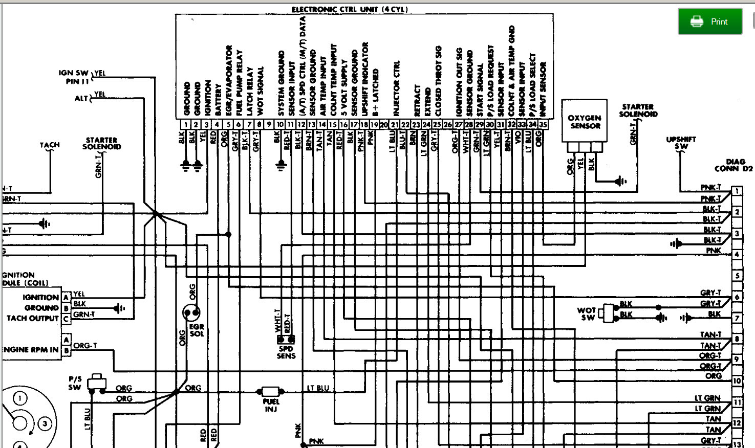 1988 Jeep Yj Engine Wiring I Recently Replaced My When Wrangler Fuel Pump Diagram Thumb