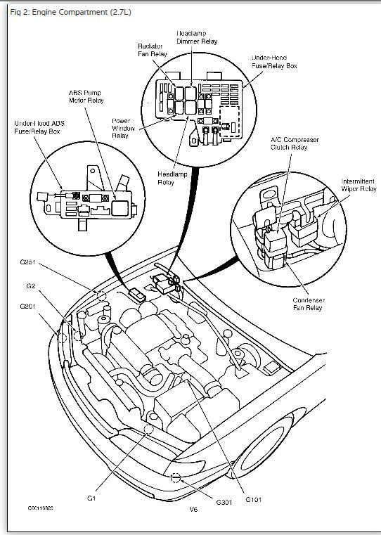 Relay Location On Honda Accord Wiring Diagram Also A C Clutch Relay
