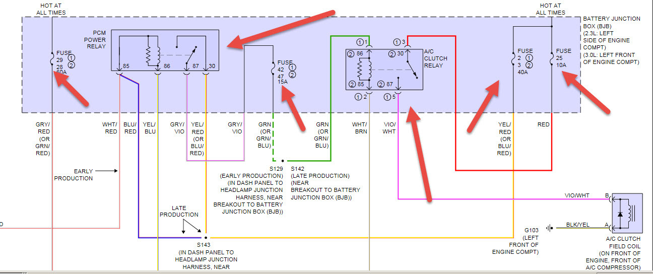 Ac Wiring Diagram 2010 Ford Fusion