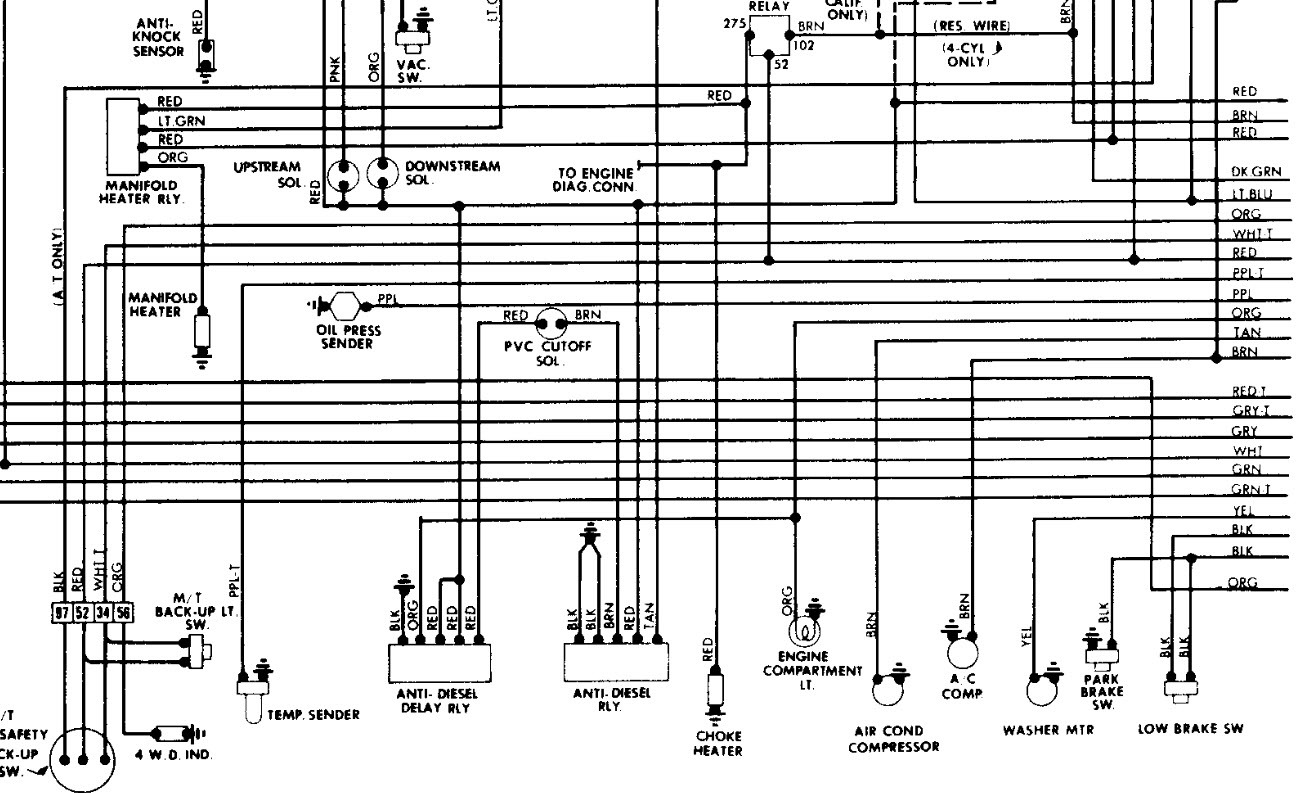 original  Cj Wiring Diagram Rear on 86 cj7 wiper motor, cj7 wiring harness diagram, 1983 cj7 vacuum lines diagram, 1980 v8 cj7 starting wire diagram, 85 cj7 wiring diagram, jeep cj7 engine diagram, cj7 fuel line diagram, cj7 heater diagram, 258 jeep engine wiring diagram, 84 cj7 fuel diagram, cj7 tail light wiring diagram, 86 cj7 distributor diagram,