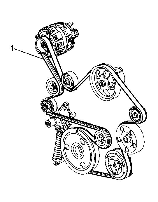 2006 Chevy Impala Serpentine Belt Diagram