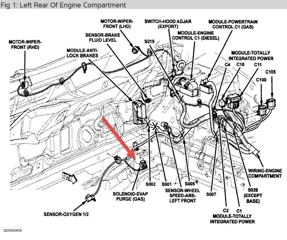 2012 jeep compass engine diagram