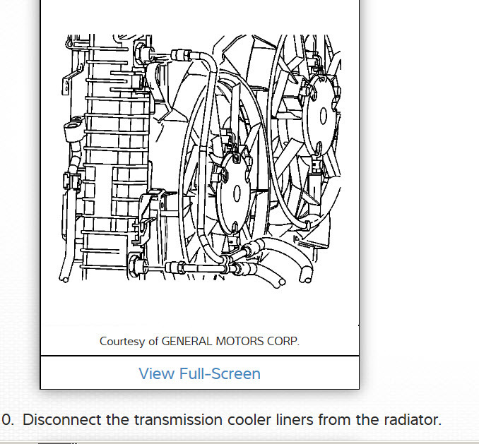 How To Replace Radiator I Need To Replace The Radiator 2006