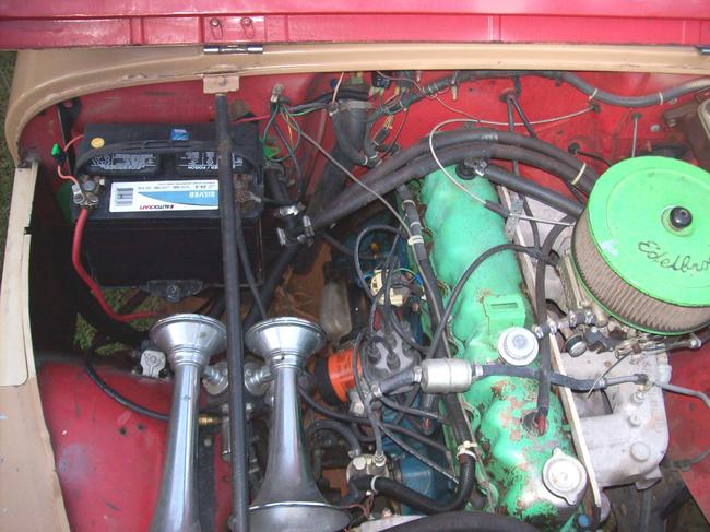 1985 Jeep CJ7 Electrical Issue  so Ive Been Working on My