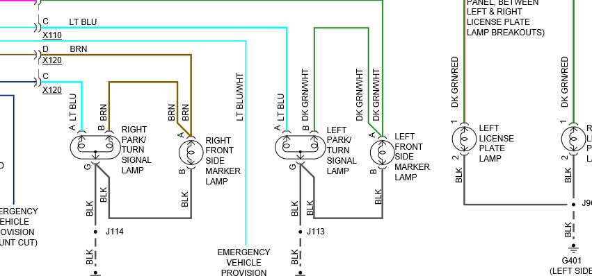 original 2010 chevrolet equinox drivers side headlight wiring i had to 2010 chevrolet equinox blower wiring diagram at panicattacktreatment.co