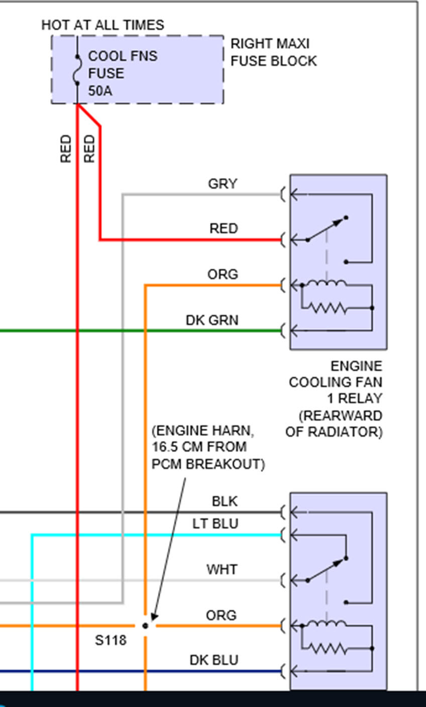 92 Cadillac Seville Fuse Box Diagram Wiring Library Panel For Deville 1998 Cooling Fan My Car Is Overheating It A