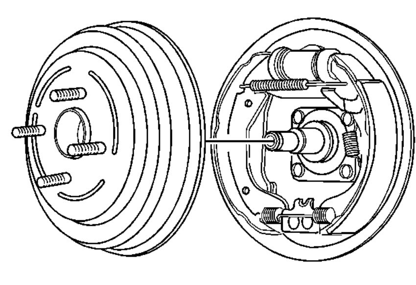 Chevrolet Brakes Diagram