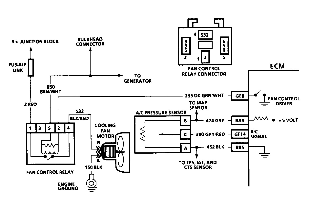 1992 chevrolet cavalier fuse my car fans are not working, and i 1992 Chevy Cavalier Speaker Diagram
