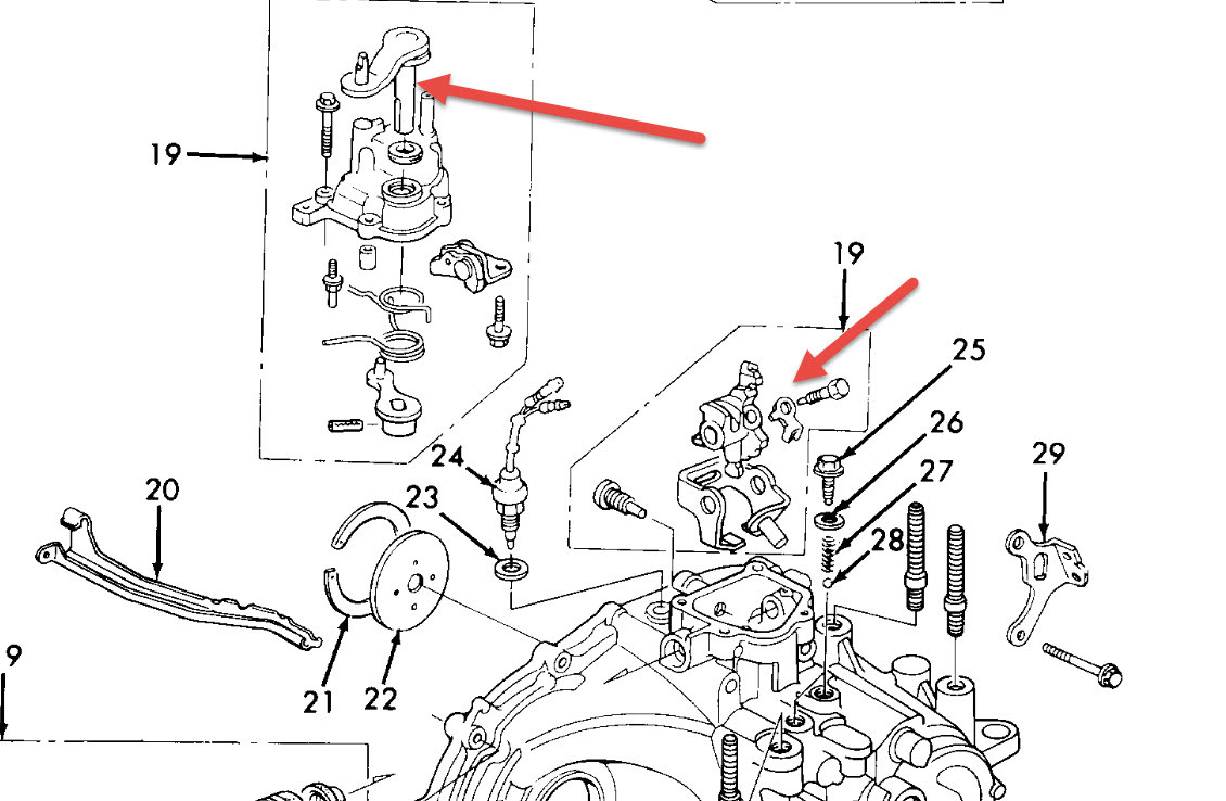1990 honda accord shifting problem  it is stuck in 4th