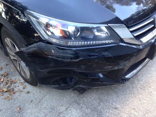 2014 Honda Accord Front Bumper Replacement?: Today I Stupidly Hit ...