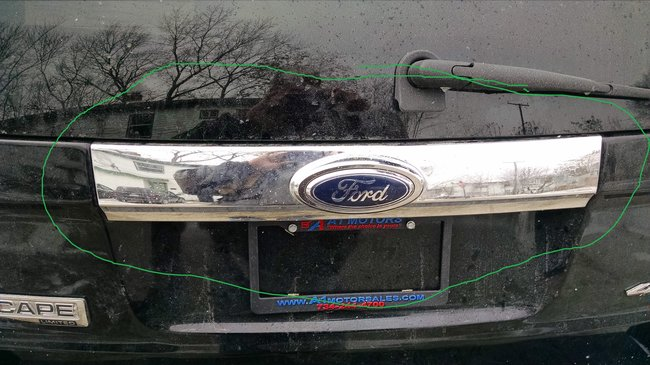 Outter Liftgate Chrome Trim Panel Removal This Piece Is On The