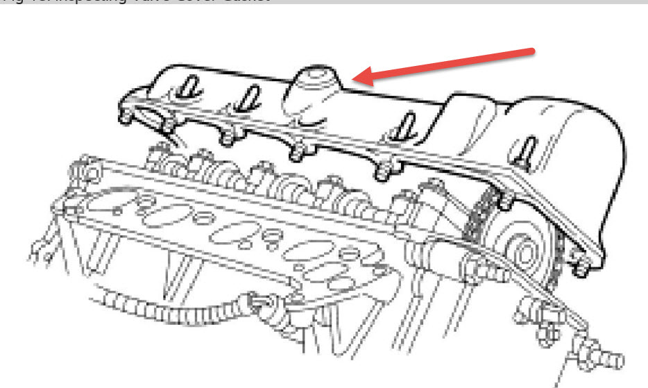 Pcv  Where Is The Pcv Valve Location In A 2004 4 6 Ford