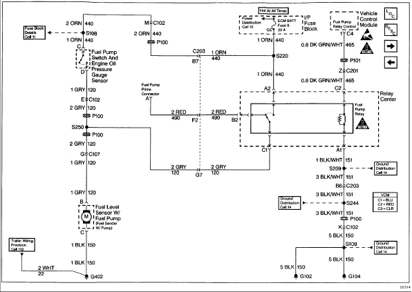 Fuel Pump Relay Location  Which Of The Three Relays In