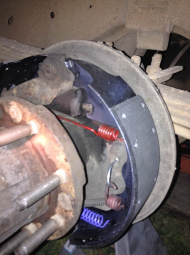 Rear Brake    Diagram     How Do You Attach the Hold Down Spring on a