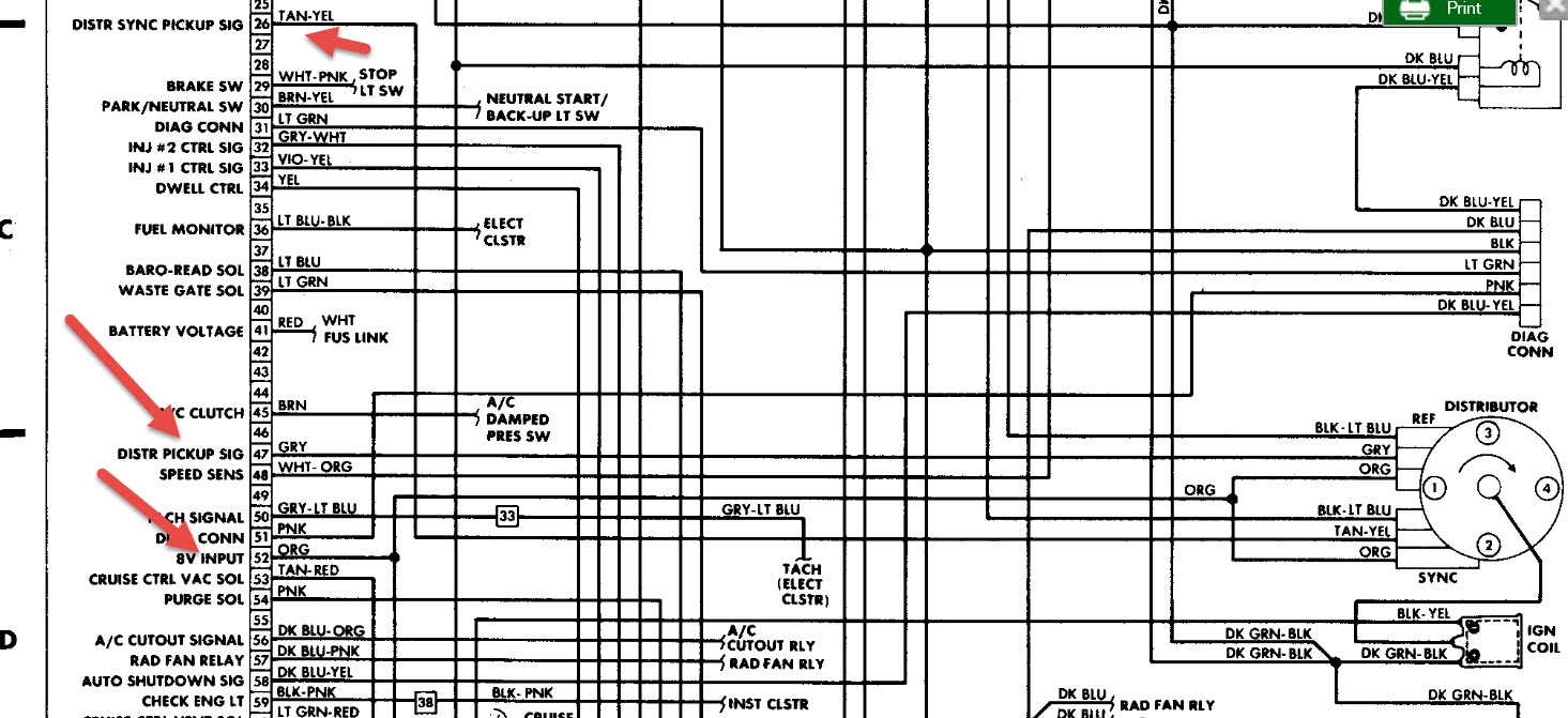 plymouth reliant wiring diagram