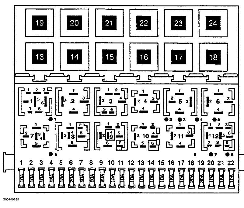 Fuse Box Diagram  Jetta2 Cli Fuse Box Diagram